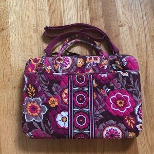 Vera Bradley Large Hard Laptop Bag